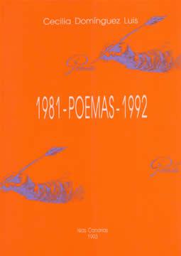 Book Cover: 1981 - Poemas - 1992