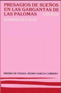 Book Cover: Presagios de sueños en las gargantas de las palomas